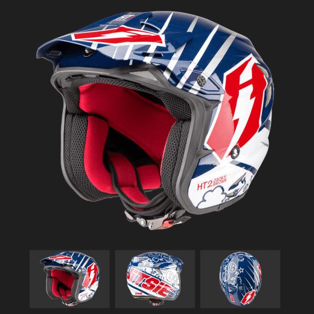 JITSIE Carbon Helmet HT2 Jacky Brown ヘルメット
