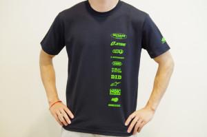 ライムグリーンロゴ TEAM MITANI Tシャツ!!